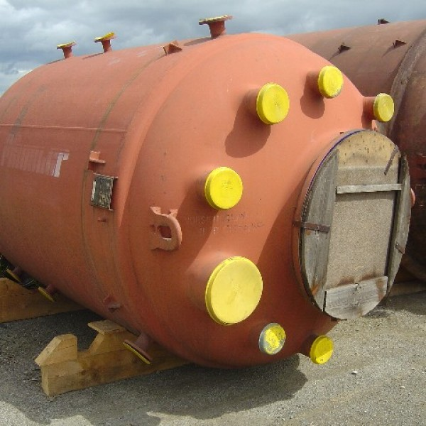 Glass Lined Reactors Europe Over 5,000 Litres