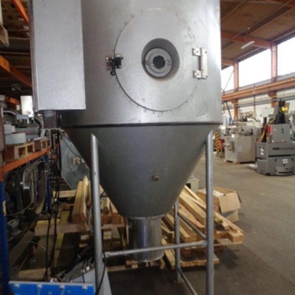 "3'11"" X 3′ Stainless Steel Niro Production Minor Spray Dryer"