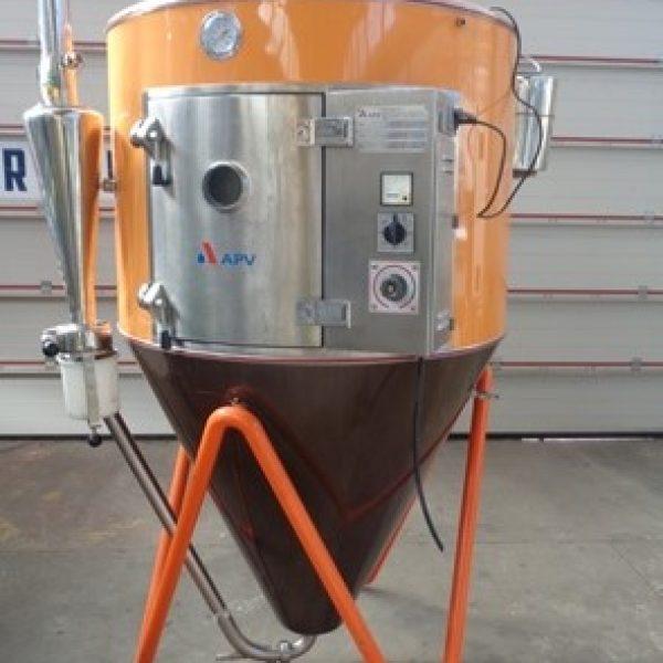 Used APV Anhydro Model Lab S1 Stainless Steel Spray Dryer