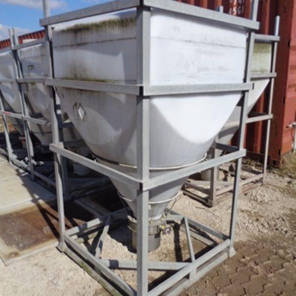 51 X Used 1,000 Litre Bison Plastic IBC's