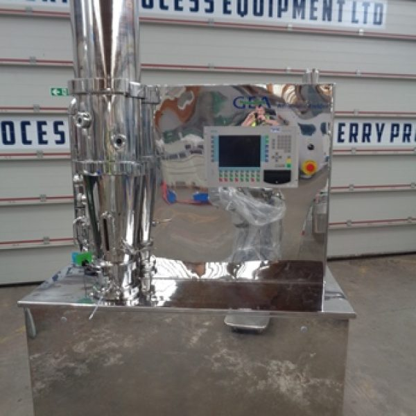 Niro Model MP1 Stainless Steel Multi Processor Fluid Bed Dryer/Granulator/Coater